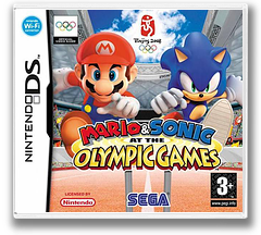 Mario & Sonic at the Olympic Games DS cover (AY9P)