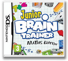 Junior Brain Trainer - Maths Edition DS cover (B2EP)