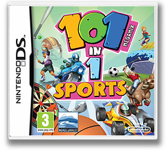 101 in 1 Sports Megamix DS cover (B2NP)