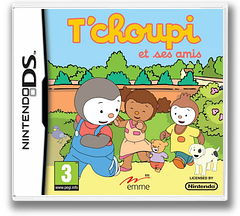 T'choupi et Ses Amis DS cover (B2TF)