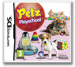 Petz - Playschool DS cover (B3UP)