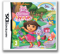 Dora's Big Birthday Adventure DS cover (B4DY)