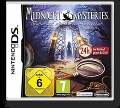 Midnight Mysteries - Gaensehaut Wimmelbild-Abenteuer mit Edgar Allan Poe DS cover (B4MD)