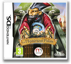 Naraba's World - The Mysterious Palace DS cover (B4ZP)