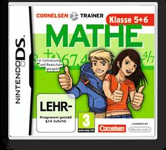 Cornelsen Trainer - Mathe - Klasse 5 + 6 DS cover (B5XP)