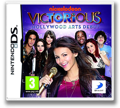 Victorious - Hollywood Arts Debut DS cover (B6EP)