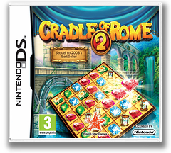 Cradle of Rome 2 DS cover (B6JZ)