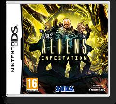 Aliens - Infestation DS cover (B79P)