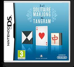 3 in 1 - Solitaire, Mahjong & Tangram DS cover (B7LP)