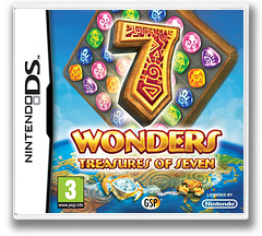 7 Wonders - Treasures of Seven DS cover (B7VF)