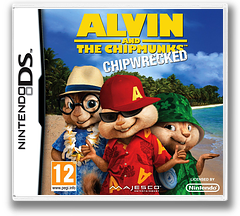 Alvin and the Chipmunks - Chipwrecked DS cover (B7ZX)