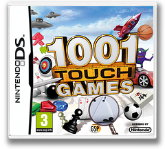 1001 Touch Games DS cover (B8KX)