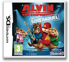Alvin and the Chipmunks - The Squeakquel DS cover (BAVX)