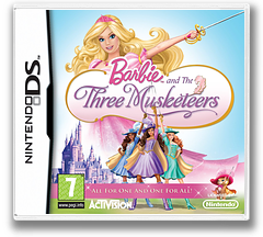 Barbie and the Three Musketeers DS cover (BB3P)