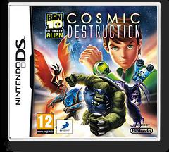Ben 10 - Ultimate Alien - Cosmic Destruction DS cover (BB9P)