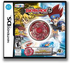 Beyblade - Metal Fusion (ToysRus Exclusive) DS cover (BBUX)