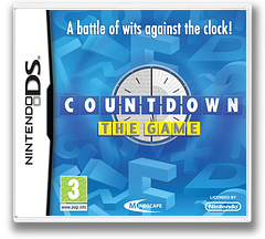 Countdown - The Game DS cover (BC3P)