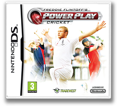Freddie Flintoff's Power Play Cricket DS cover (BCEP)