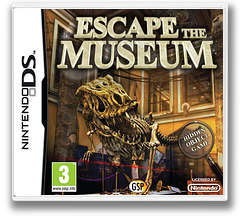 Escape the Museum DS cover (BE3X)