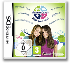 Element Girls - Style Your Life! DS cover (BECX)