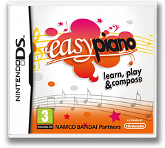 Easy Piano - Learn, Play & Compose DS cover (BEPP)