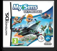 MySims - SkyHeroes DS cover (BFLP)