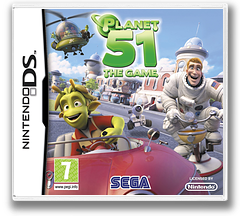 Planet 51 - The Game DS cover (BGEP)