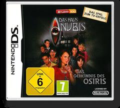 Das Haus Anubis - Das Geheimnis des Osiris DS cover (BHCD)