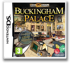Hidden Mysteries - Buckingham Palace DS cover (BHYX)