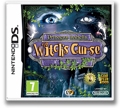 Princess Isabella - Witch's Curse DS cover (BIWP)
