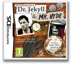 The Mysterious Case of Dr. Jekyll & Mr. Hyde DS cover (BJHP)