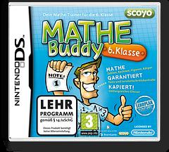 Mathe Buddy - 6. Klasse DS cover (BKDX)