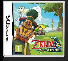 The Legend of Zelda - Spirit Tracks DS cover (BKIP)