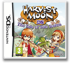 Harvest Moon - The Tale of Two Towns DS cover (BKUP)