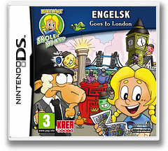 Pixeline Skolehjaelp - Engelsk - Goes to London DS cover (BL7Q)