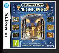 Professor Layton en de Melodie van het Spook DS cover (BLFH)