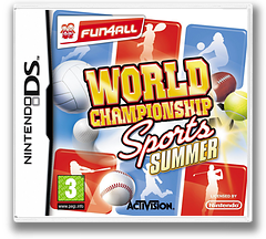 World Championship Sports - Summer DS cover (BLSP)