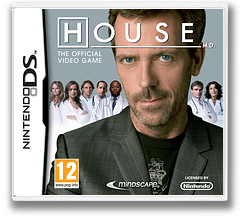 House M.D. - The Official Game DS cover (BMHP)