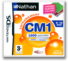 Nathan Entrainement CM1 DS cover (BN5F)