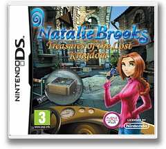 Natalie Brooks - Treasures of the Lost Kingdom DS cover (BNPP)