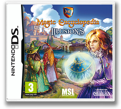 Magic Encyclopedia 3 - Illusions DS cover (BNWP)