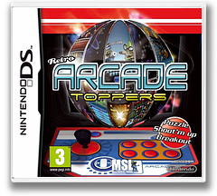Retro Arcade Toppers DS cover (BNZP)