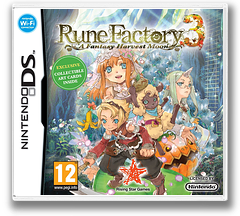 Rune Factory 3 - A Fantasy Harvest Moon DS cover (BRFP)