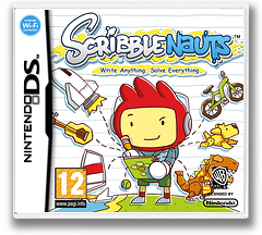 Scribblenauts DS cover (BSLX)