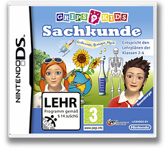 GripsKids - Sachkunde DS cover (BSSD)
