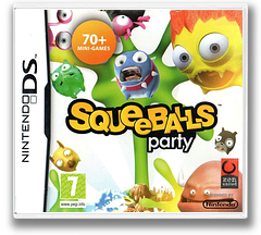 Squeeballs Party DS cover (BSVP)