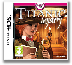 Titanic Mystery DS cover (BTIP)