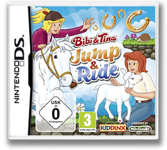 Bibi & Tina - Jump & Ride DS cover (BUPD)