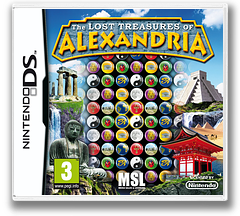 The Lost Treasures of Alexandria DS cover (BVTP)