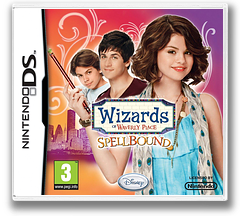 Wizards of Waverly Place - Spellbound DS cover (BW4P)